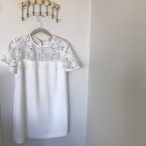 White WAYF dress